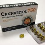 Cannabitol 750 Full-Spectrum Hemp Oil Soft Gels