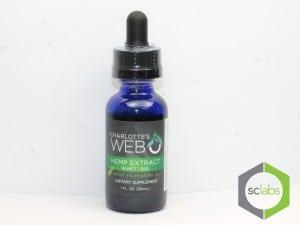 Charlotte's Web CBD Oil Tincture